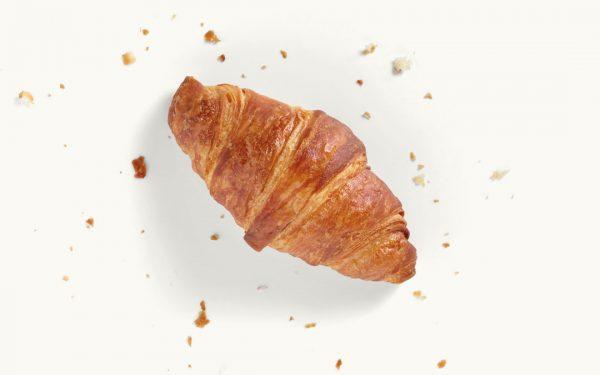 Ein Butter-Croissant