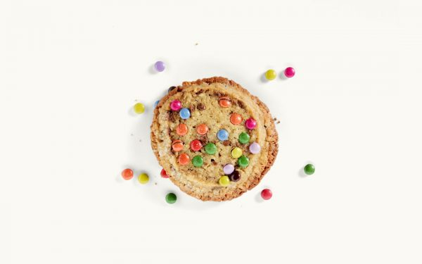 Ein Schoko-Cookie mit Schokolinos