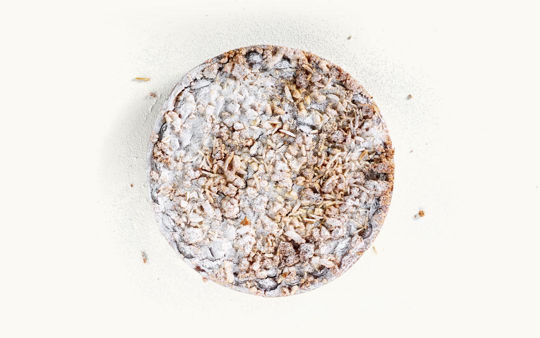 Ein Zwetschgen-Streuselkuchen