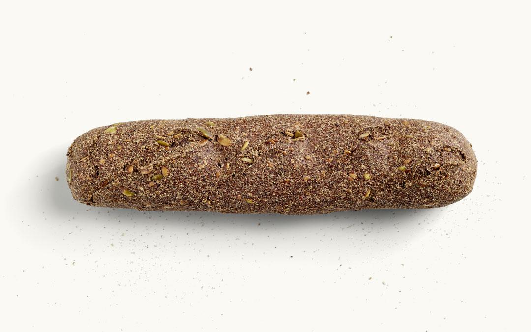 Ein MEHL-OHNE Baguette pur