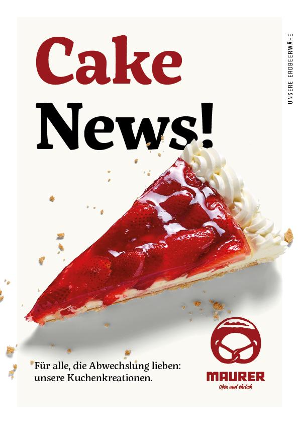 Anzeige Cake News!