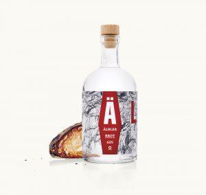 Ein Älbler Brot Gin
