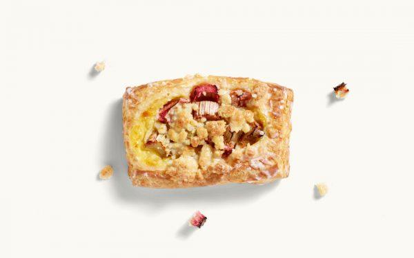 Rhabarber-Pudding-Plunder